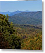 Early Fall In Virginia Metal Print