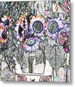 Early Flower Study Metal Print