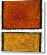Early In The Morning Abstract Painting Metal Print