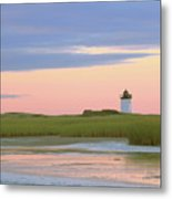 Early Light At Wood End Light Metal Print