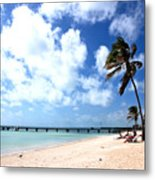 Early Morning At The Beach Metal Print