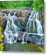 Early Morning At The Upper Falls Metal Print