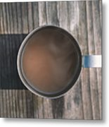 Early Morning Coffee  Metal Print