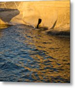 Early Morning Gold At Valletta Fortifications Metal Print