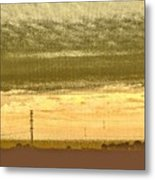 Early Morning In The Heartland Metal Print