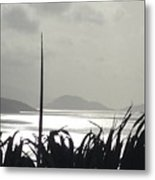 Early Morning Over Sugar Beach Metal Print