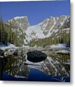 Early Morning Reflections Metal Print