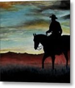 Early Morning Ride Metal Print by Stefon Marc Brown