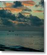 Early Morning Sea Metal Print