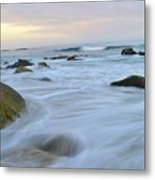 Early Morning Seas Metal Print