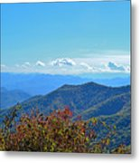 Early Mountain Autumn Metal Print
