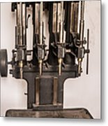 Early Press From Car Manufacturing 2 Metal Print