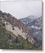 Early Snows Metal Print