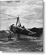 Early Soviet Autogyro, 1932 Metal Print