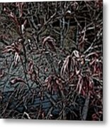 Early Spring Abstract Metal Print