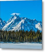 Early Spring In The Tetons Metal Print
