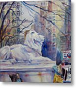 Early Spring Nyc Metal Print