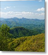 Early Spring On The Blue Ridge Parkway Metal Print