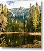 Early Spring Reflections Metal Print