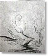 Early Spring Tulips Metal Print