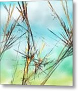 Early Spring Twigs Metal Print