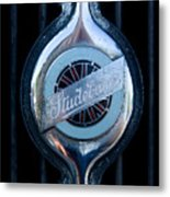Early Studebaker Grill Emblem Metal Print