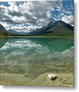 Early Summer Day On Goat Pond Metal Print