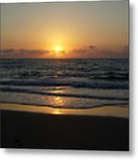 Early Sunrise  Atlantic Ocean Metal Print