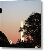 Early Washington Mornings - Cpl Block - For Liberty Metal Print