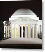 Early Washington Mornings - The Jefferson Memorial Metal Print