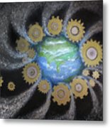 Earth #1 - You Are Here Metal Print