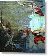 Earth Abstract Metal Print