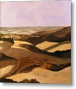 Earth And Dunes Metal Print