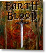 Earth Blood Cover Art Metal Print