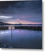Earth Day Sunset Unsigned Metal Print