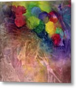 Earth Emerging Metal Print