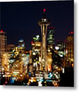 Earth Hour Spots A348 Metal Print