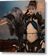 Earth Warden Metal Print