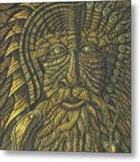 Earth Warrior Metal Print