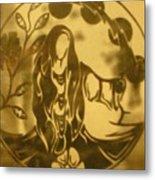 Earth Woman Metal Print by Austen Brauker