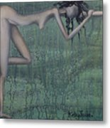 Earth Woman Metal Print