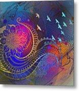 Earth, Zen, Peace 2 Metal Print
