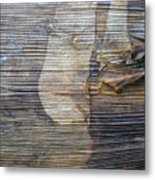 Earthquake Distortion   Metal Print