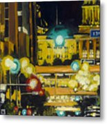East 13th And Locust St Des Moines Metal Print