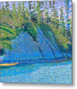 East Bay Cut  2009 Metal Print