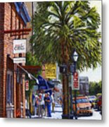 East Bay St. Charleston Sc Metal Print