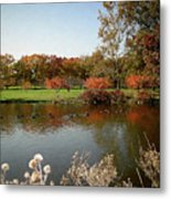 East Coast Autumn Metal Print