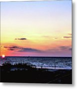 East Coast Sunrise Metal Print