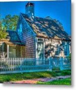 East Hampton Antique Cottage Metal Print