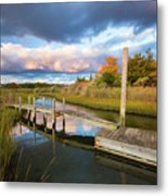 East Moriches Reflections Metal Print
